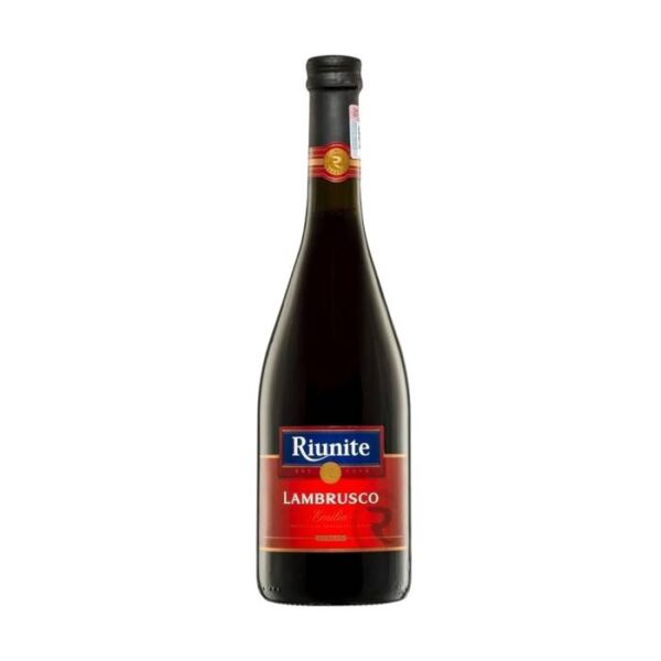 vino lambrusco riunite